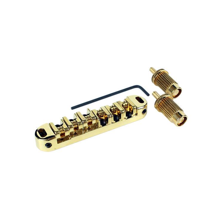 TUNE-O-MATIC GUITAR BRIDGE - GOLD