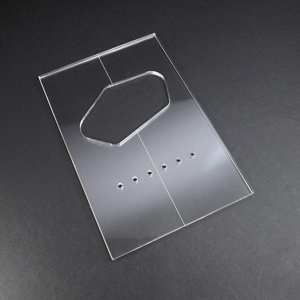 Acrylic single coil bridge tele router template pronofoot35fo Image collections
